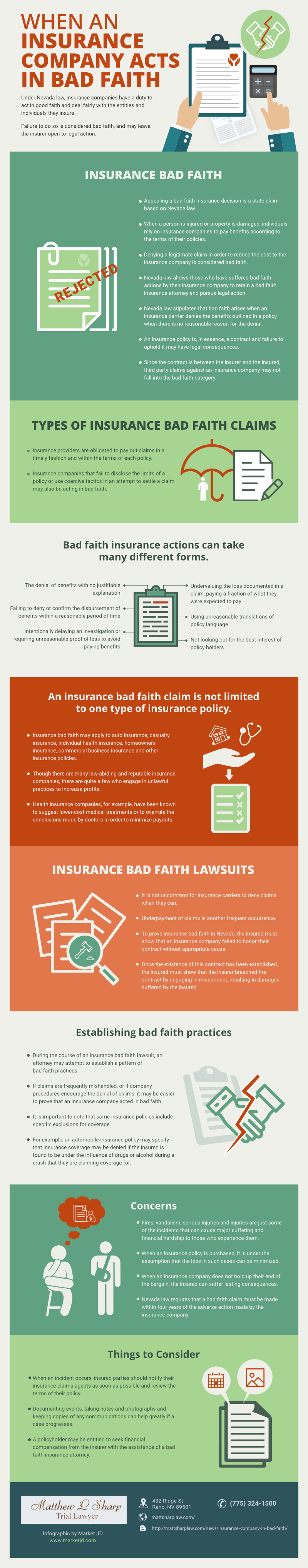 infographic_Insurance Company acts in Bad Faith